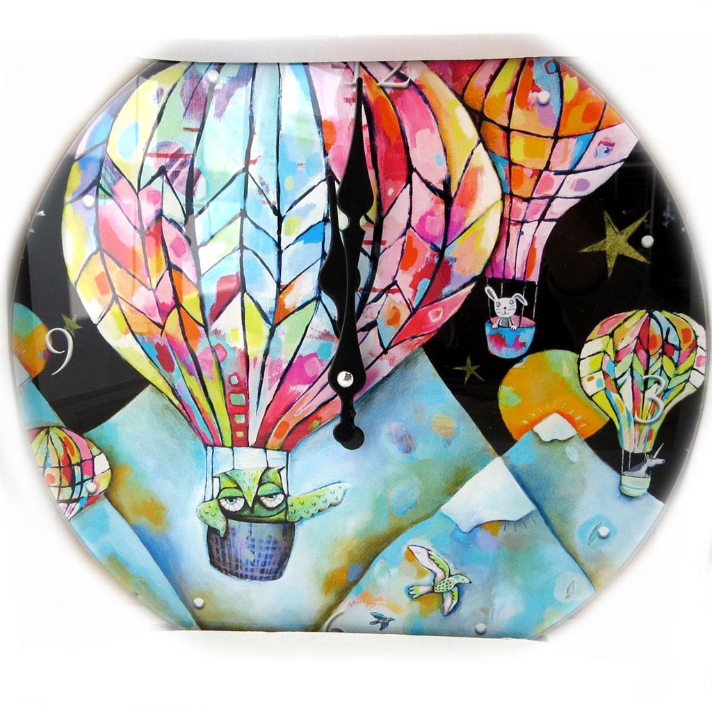 Horloge Murale \'Allen Designs\' montgolfière (30 cm) - [N5491]