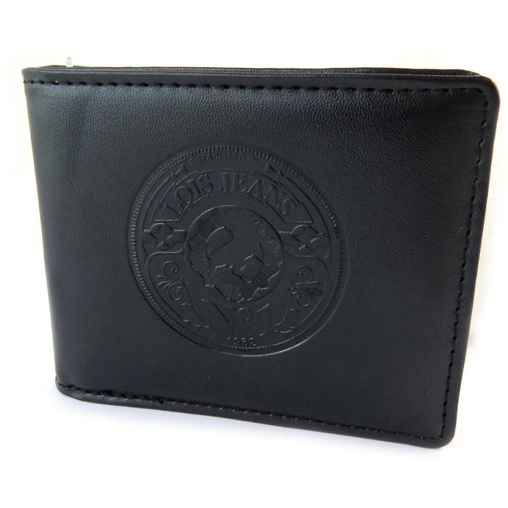 Portefeuille italien \'Lois Jean\' noir - 105x85x25 cm - [N5917]