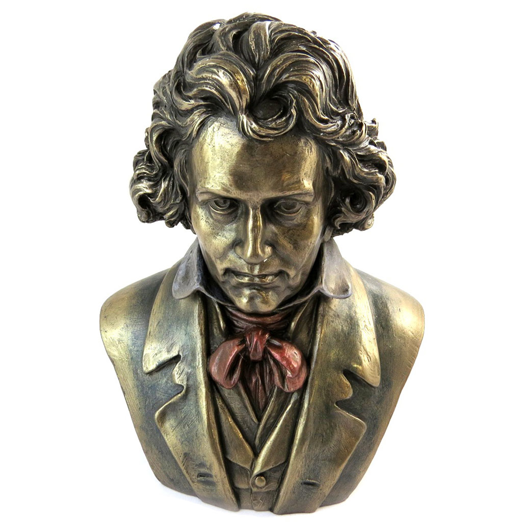 Figurine \'Beethoven\' bronze - [N6130]