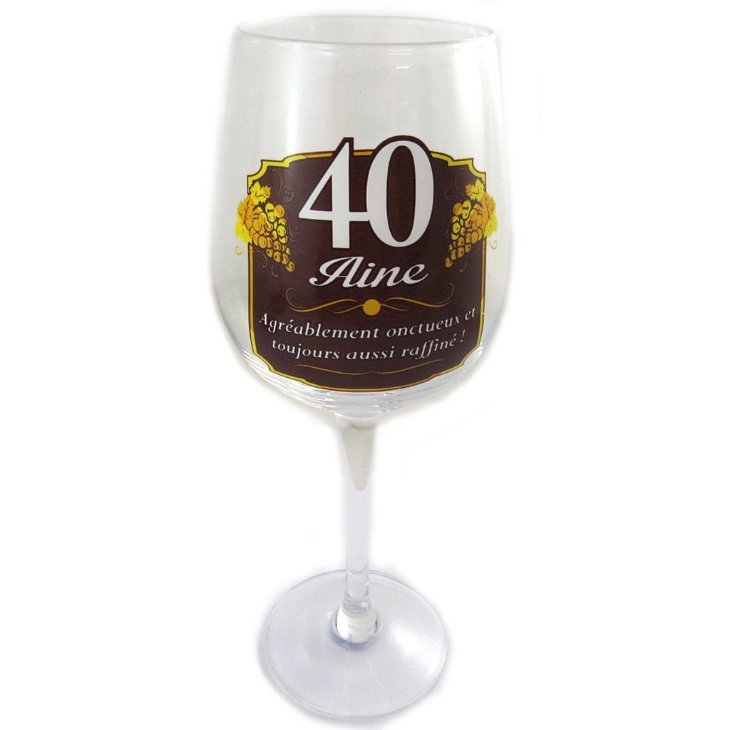 Verre à vin \'40 aine\'  - [N6147]