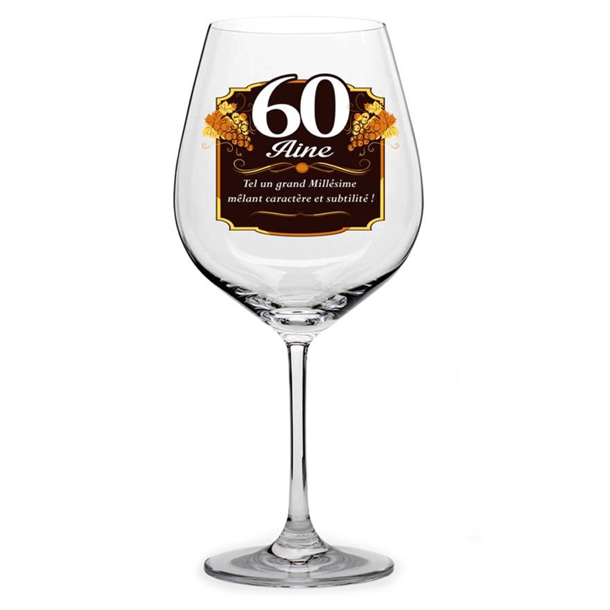 Verre à vin \'60 aine\'  - [N6149]