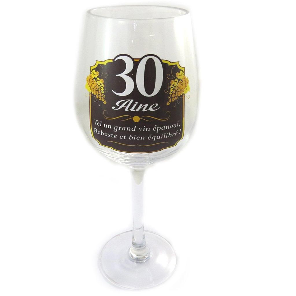 Verre à vin \'30 aine\'  - [N6161]
