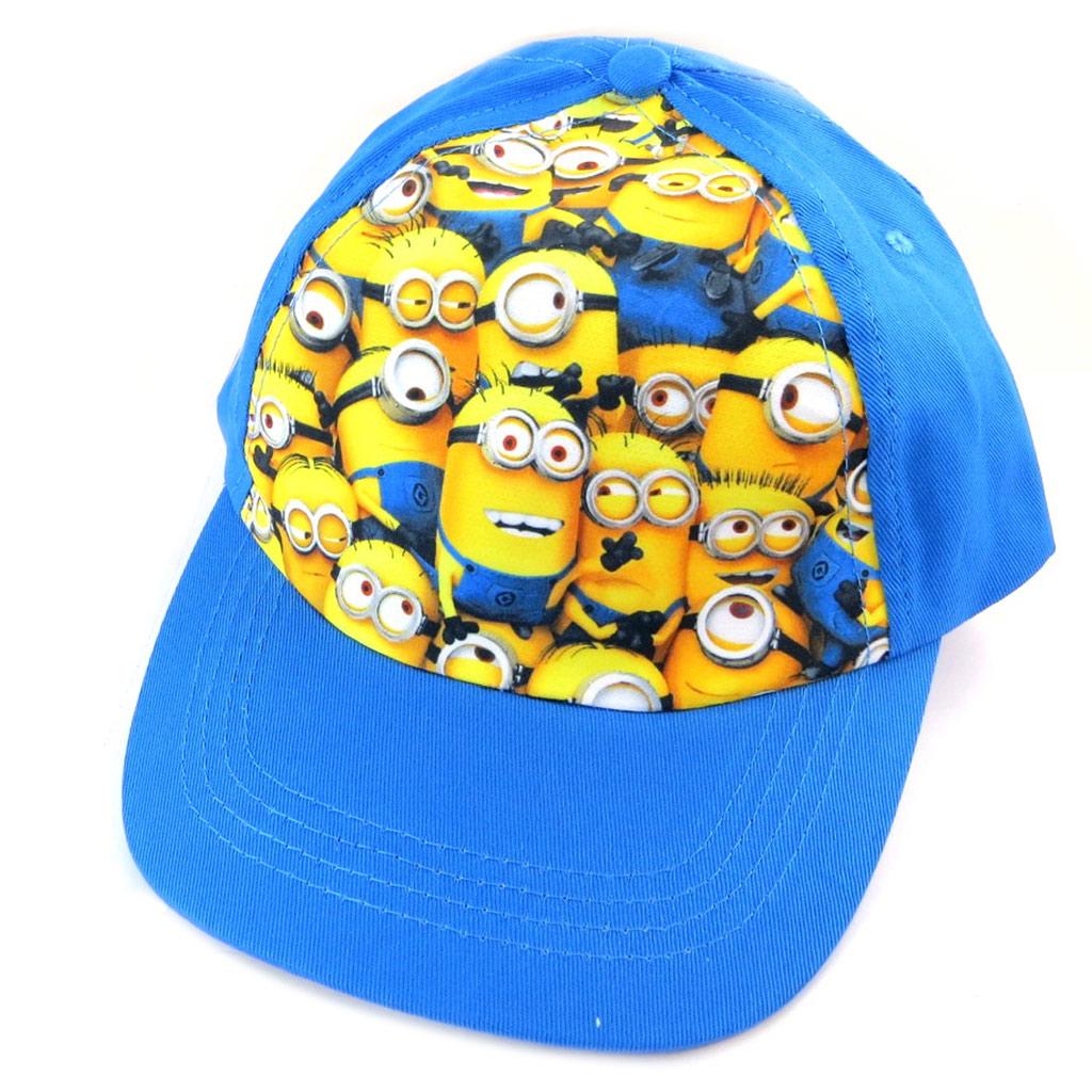Casquette Enfant \'Minions\' jaune bleu  - [N6412]