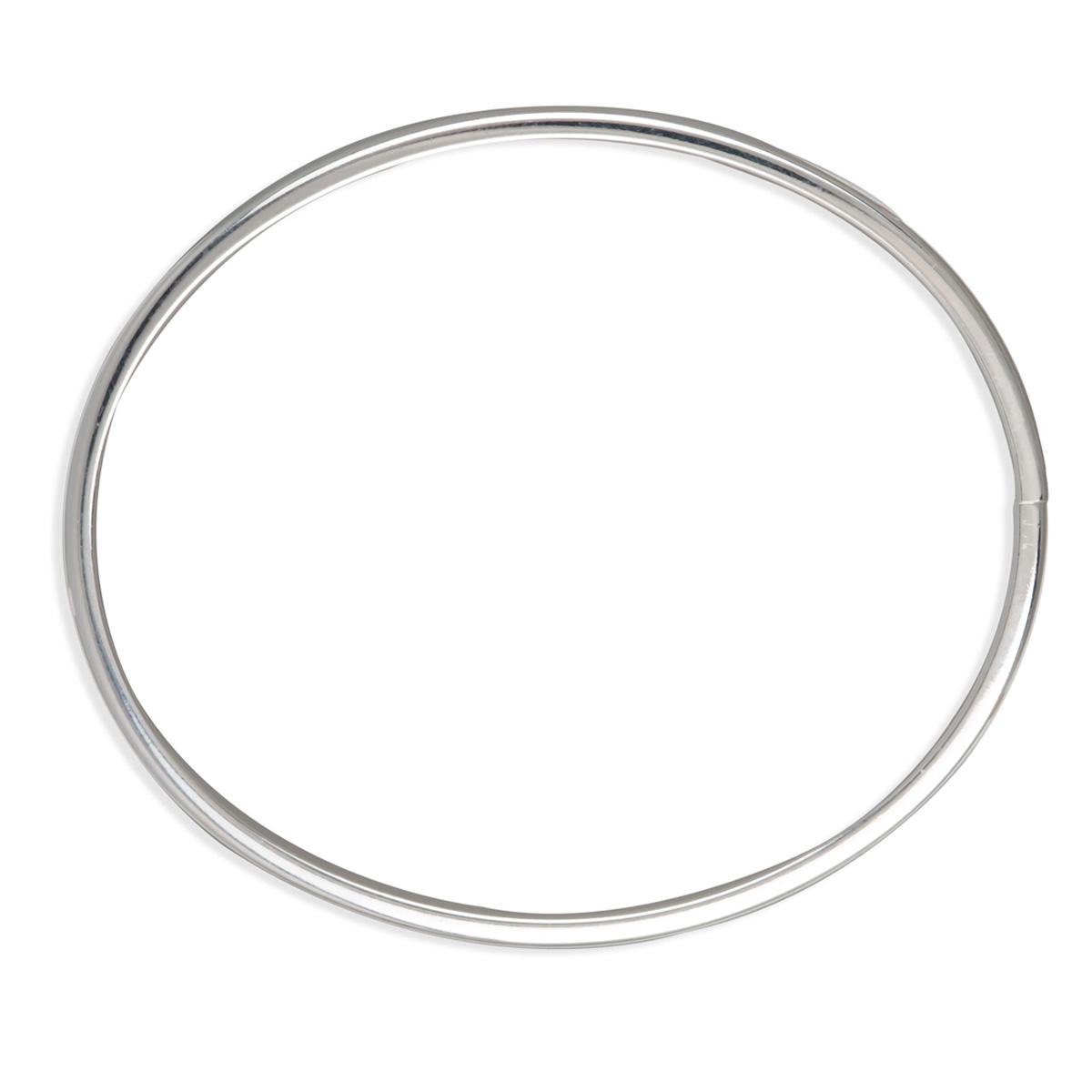 Bracelet Argent \'Demi-Jonc\' - 60 mm 5 mm - [N7277]