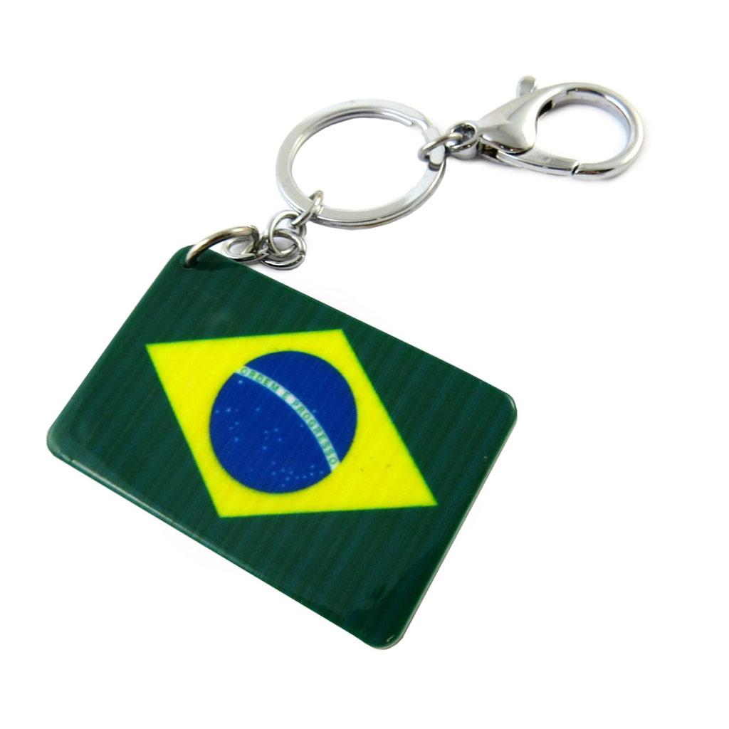 Porte-Clés \'Brésil\' vert - [N7298]