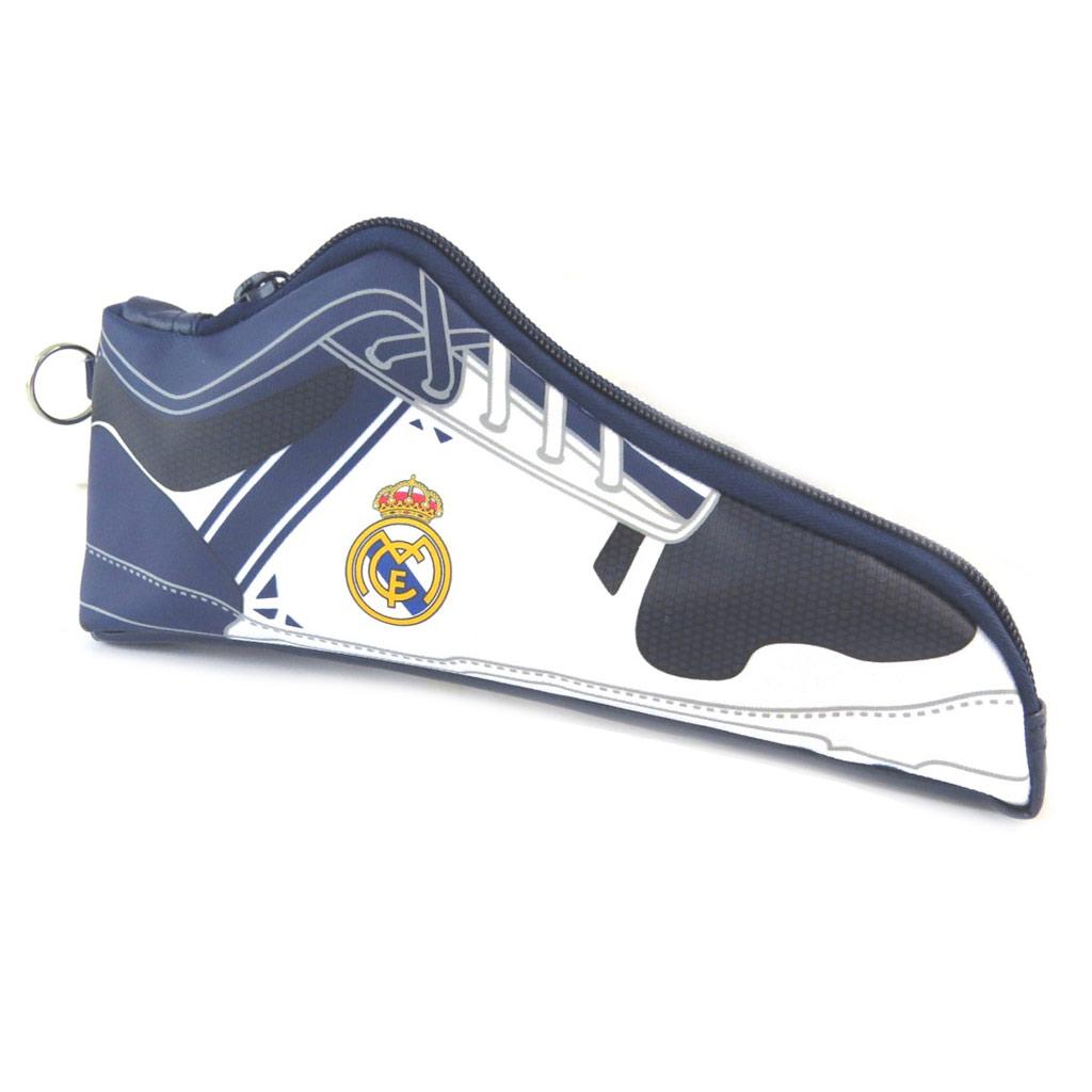 Trousse chaussure \'Real Madrid\' blanc marine  - [N7447]
