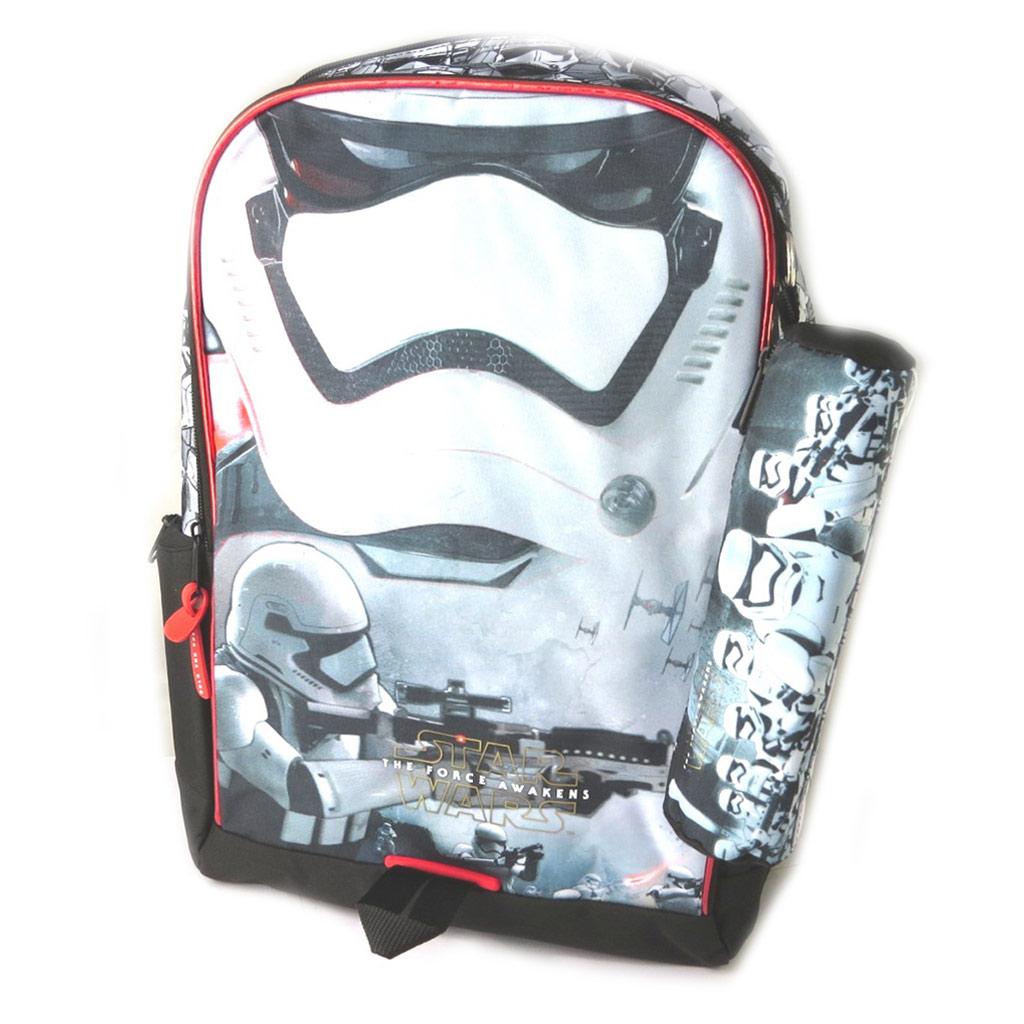 Sac à Dos \'Star Wars\' noir rouge blanc (+ trousse) - 425x30x185 cm - [N7499]