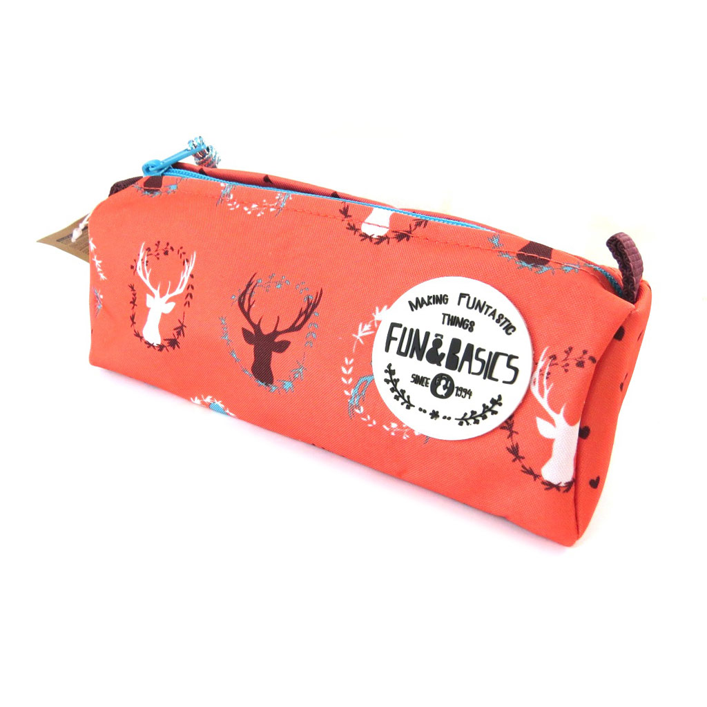 Trousse \'Fun & Basics\' cerf rouge  - [N7504]