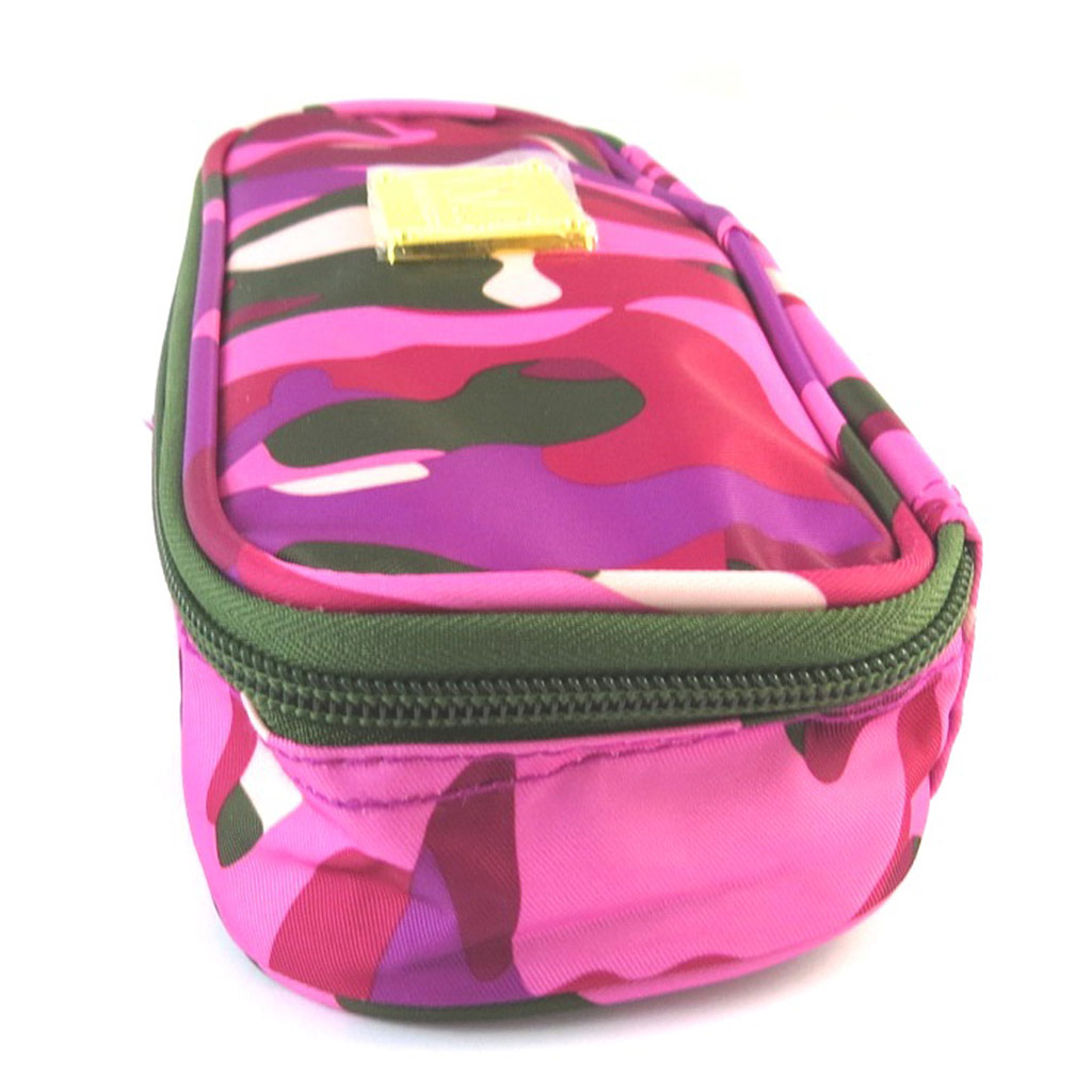 Trousse \'VMB\' rose camouflage - [N7511]