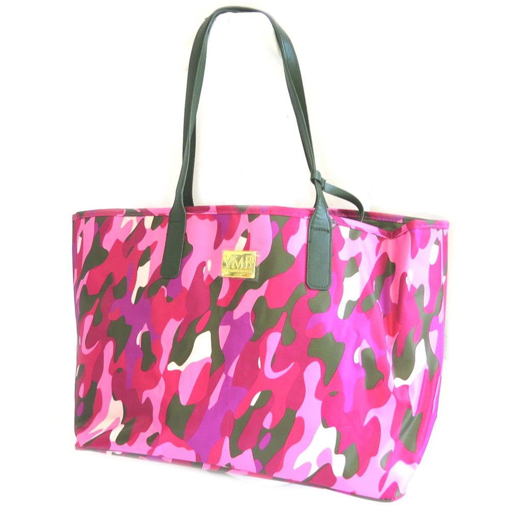 Sac cabas \'VMB\' camouflage rose - 535x32x185 cm - [N7516]