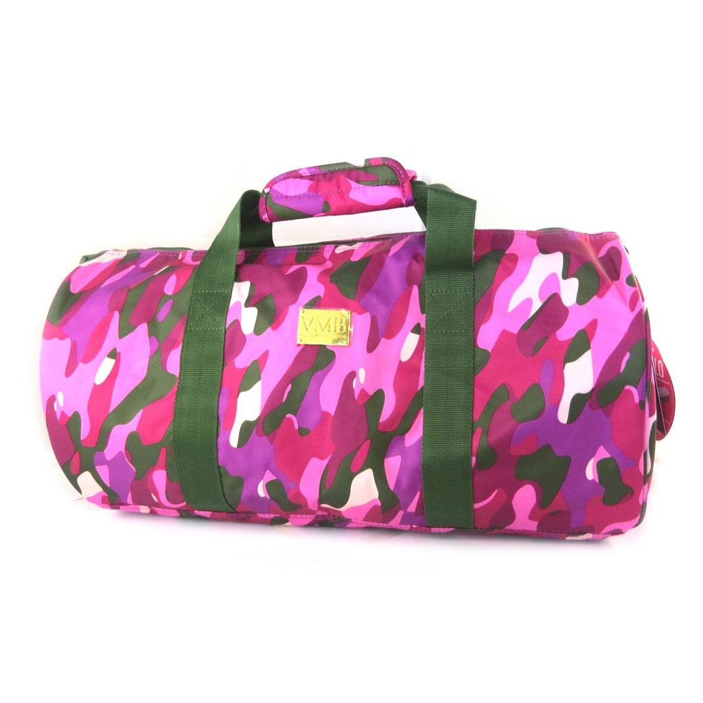 Sac de sport \'VMB\' rose camouflage - 50x255 cm - [N7517]