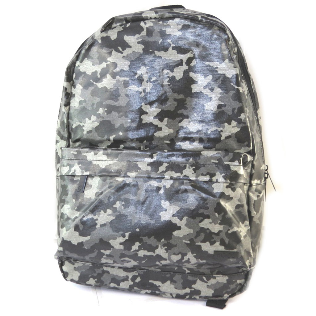 Sac à dos \'Moos\' camouflage gris - 46x39x11 cm - [N7567]