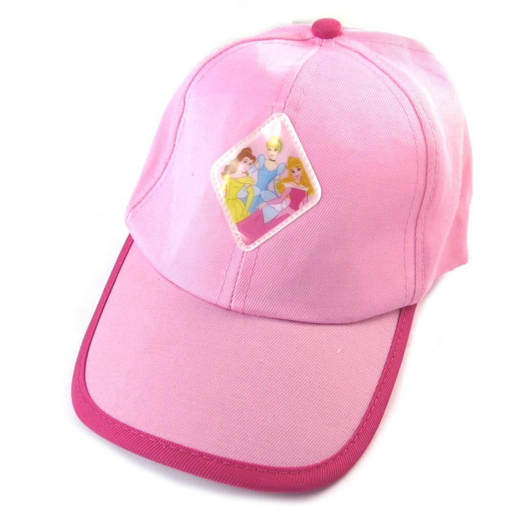 Casquette Enfant \'Princesses Disney\' rose - [N8001]