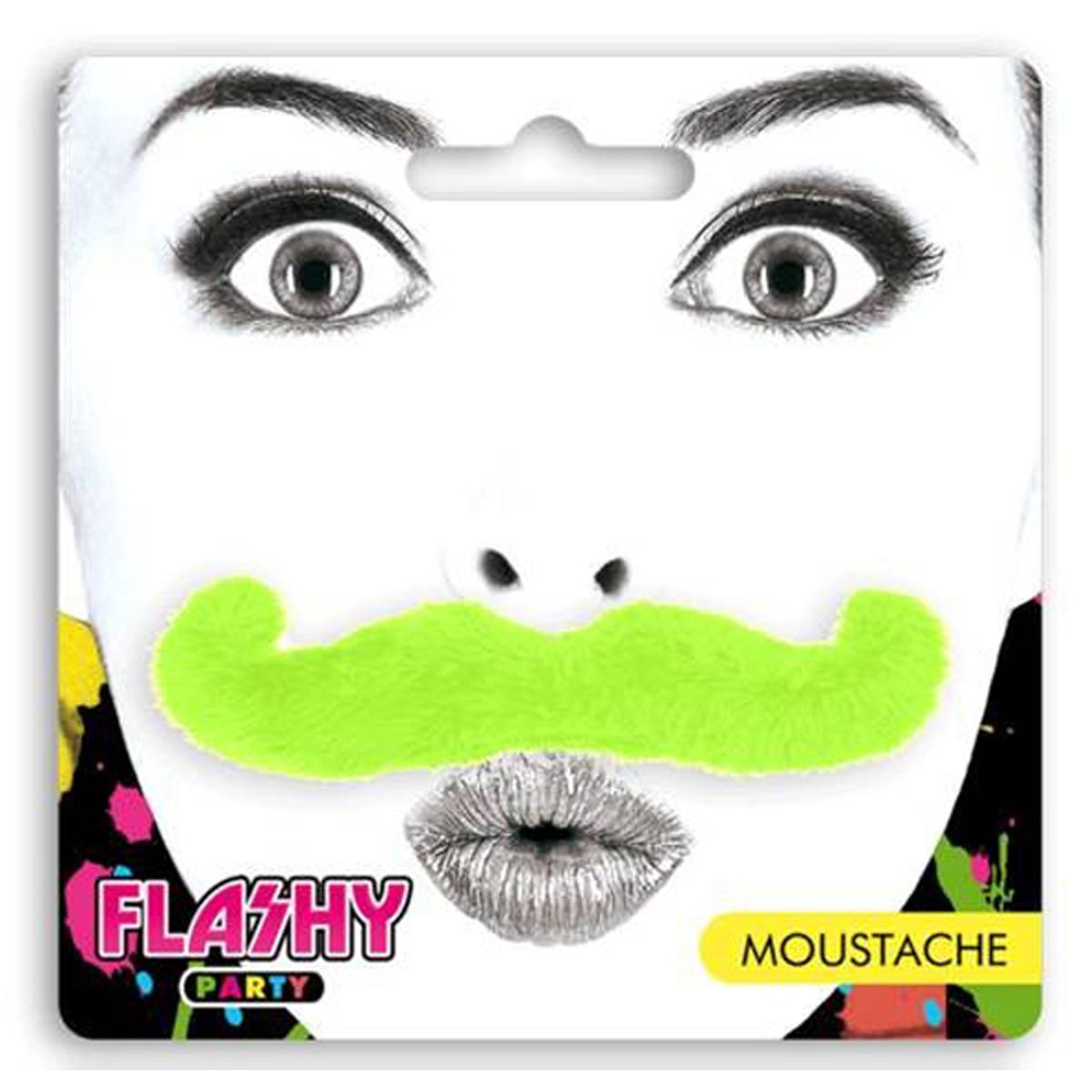 Fausse \'Moustache\' vert - [L4796]
