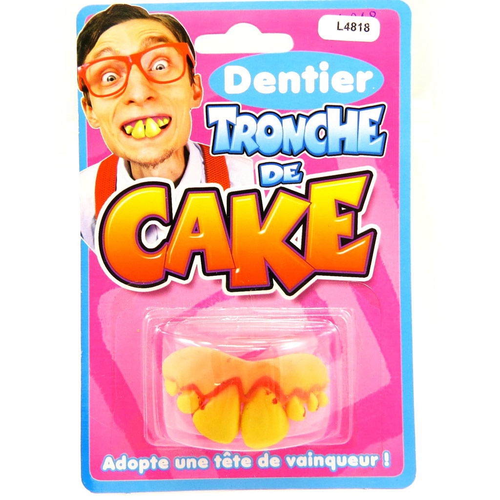Fausses dents \'Tronche de Cake\'  - [L4818]