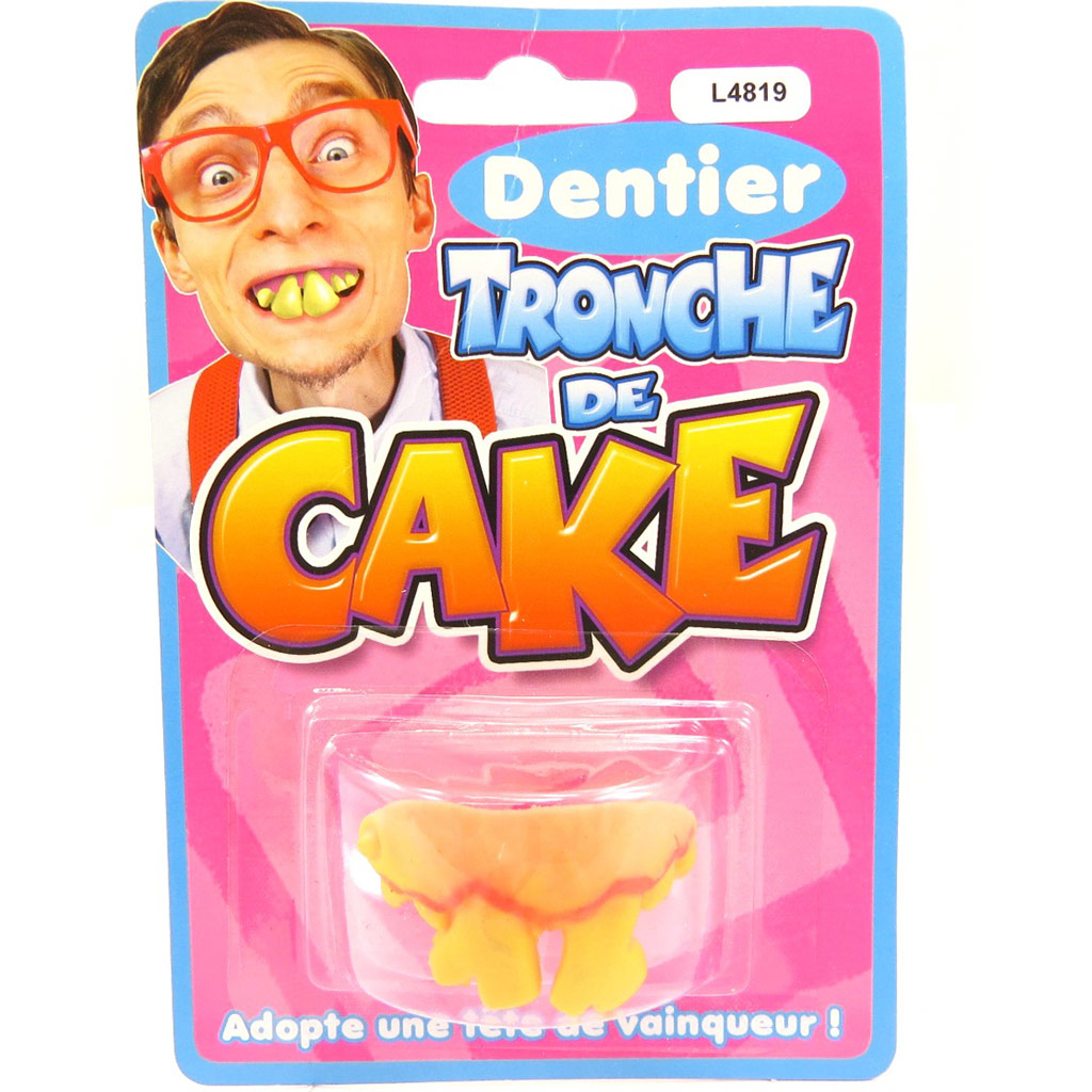 Fausses dents \'Tronche de Cake\'  - [L4819]