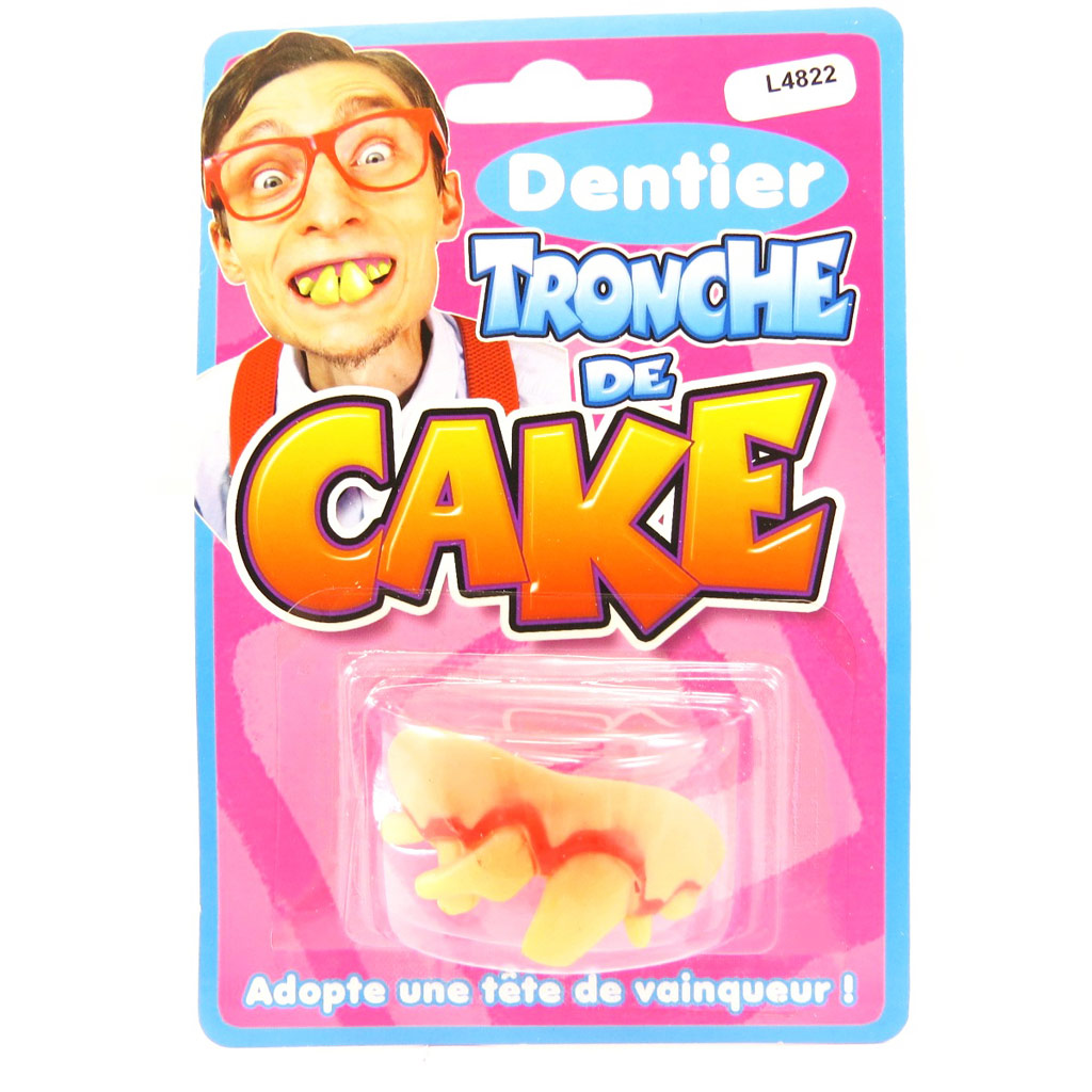Fausses dents \'Tronche de Cake\'  - [L4822]