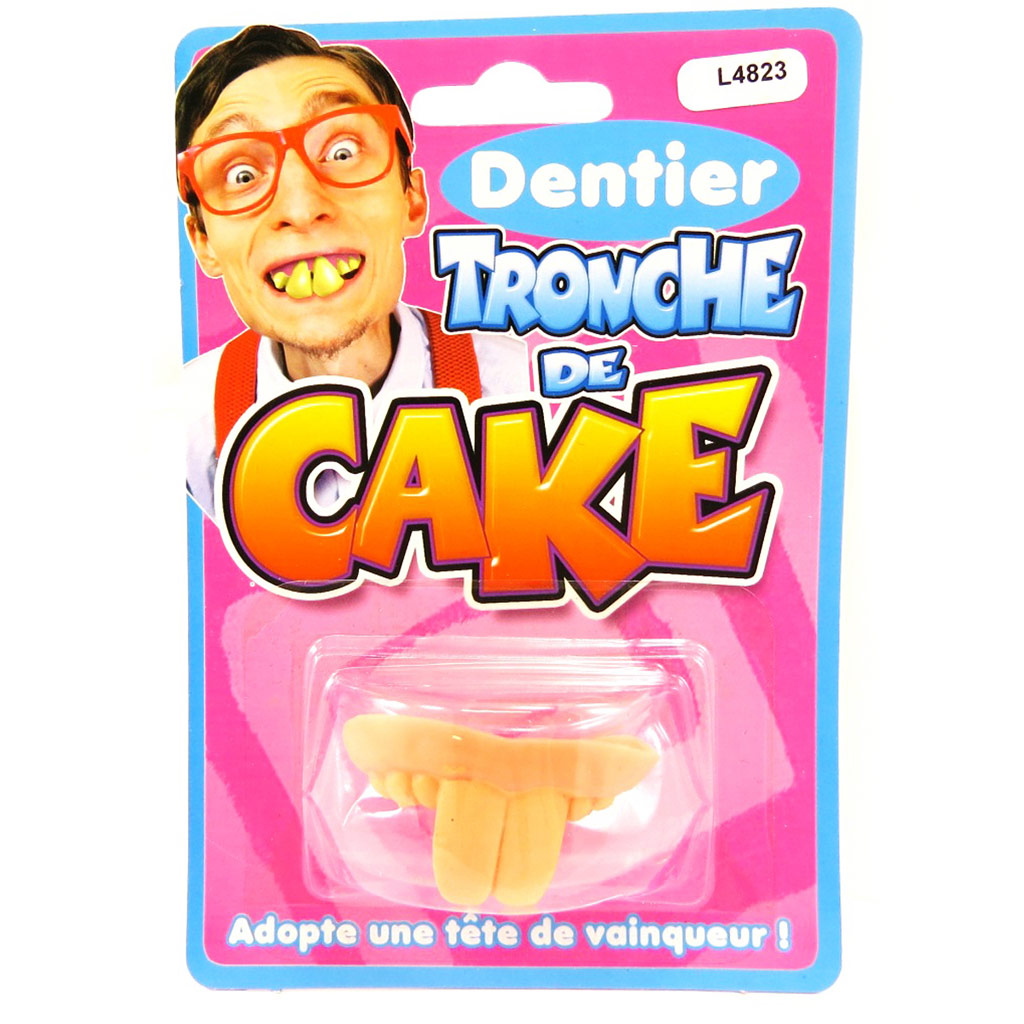 Fausses dents \'Tronche de Cake\'  - [L4823]