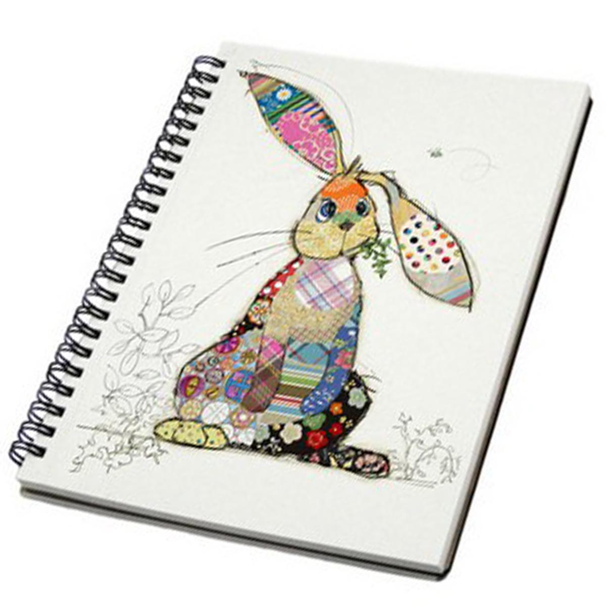 Carnet à spirales A6 \'Bug Art\' multicolore (Lapin Binky) - 145x105x12 cm - [Q2815]