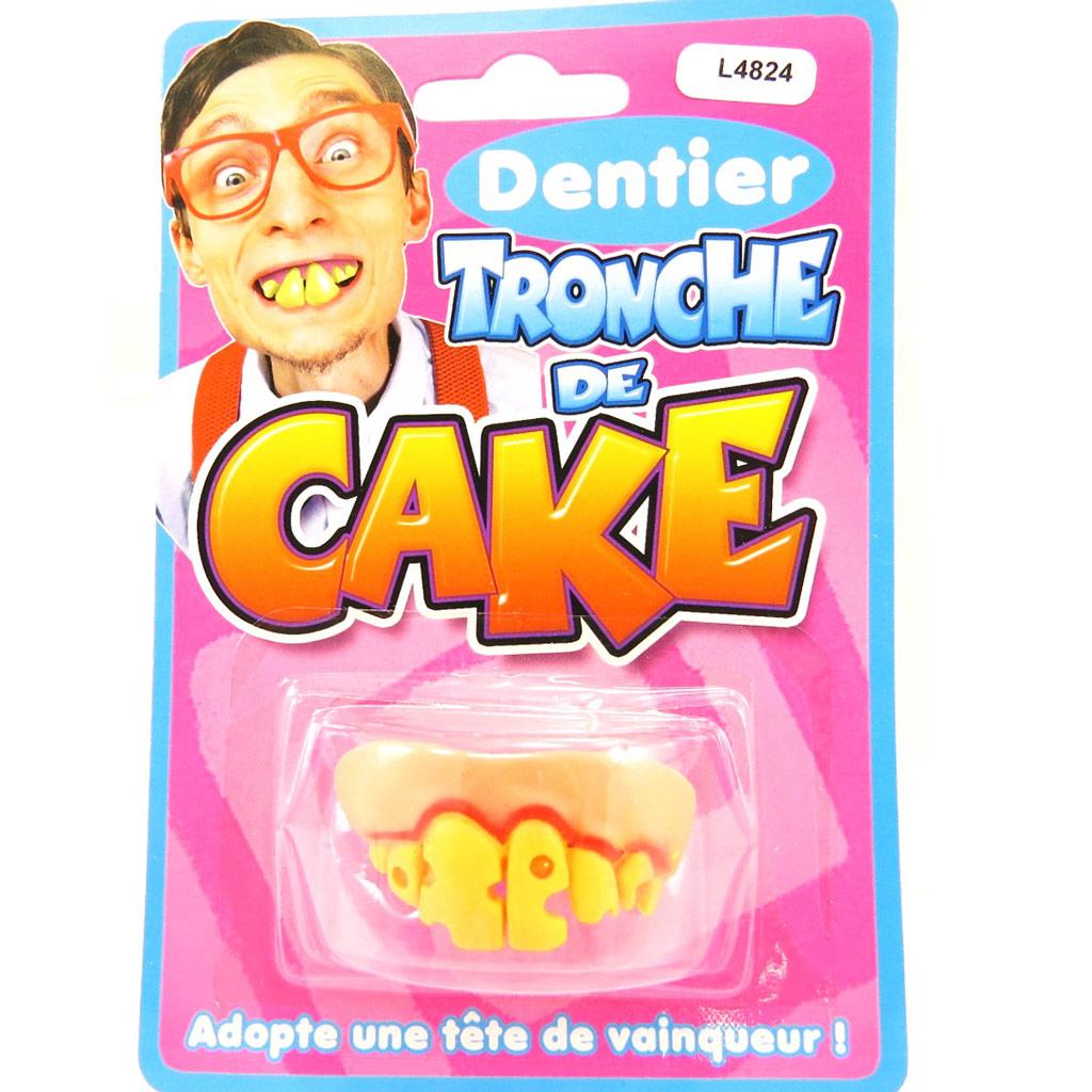 Fausses dents \'Tronche de Cake\'  - [L4824]