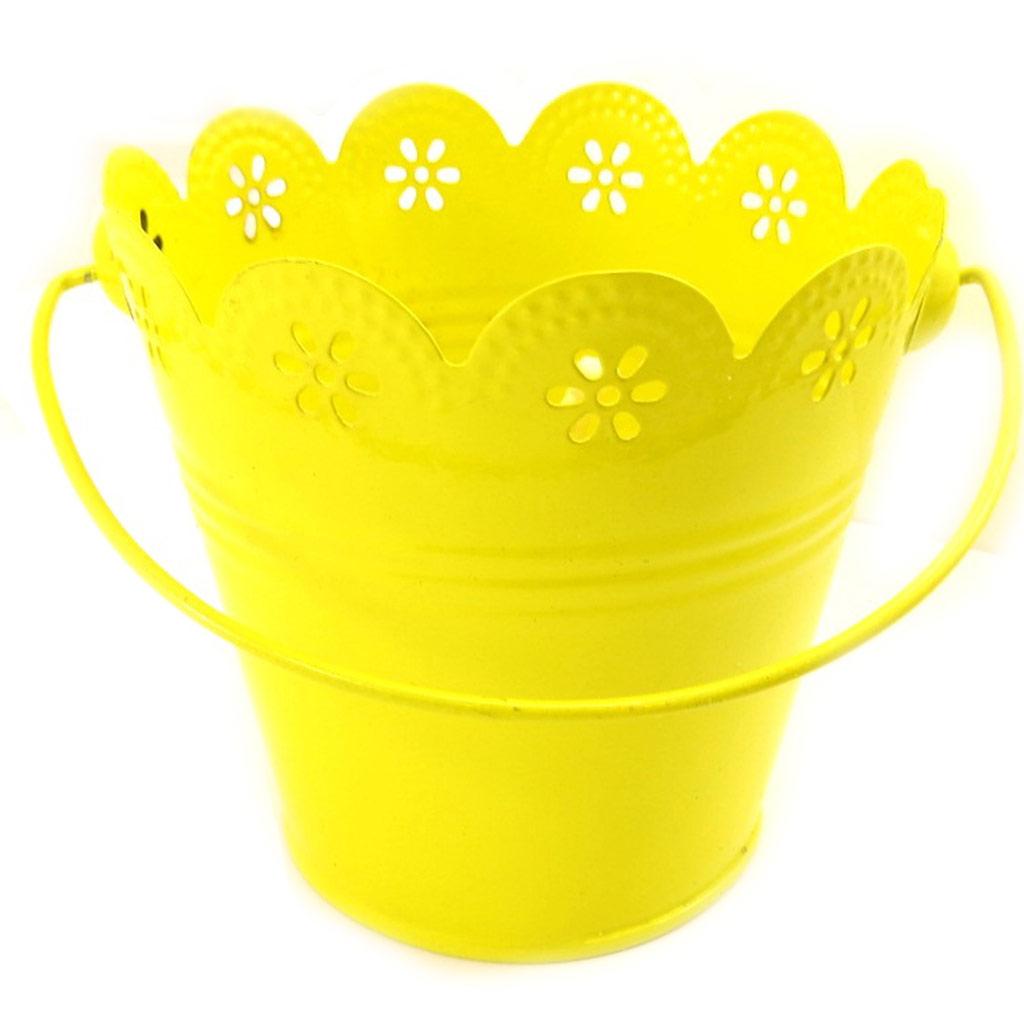 Bougie \'Citronnelle\' jaune - [L4884]