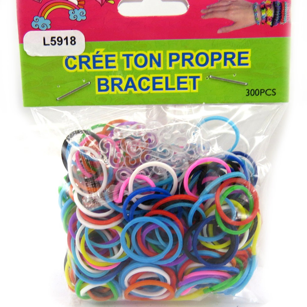 \'Looms\' ou \'bracelets magiques\' tutti frutti - [L5918]
