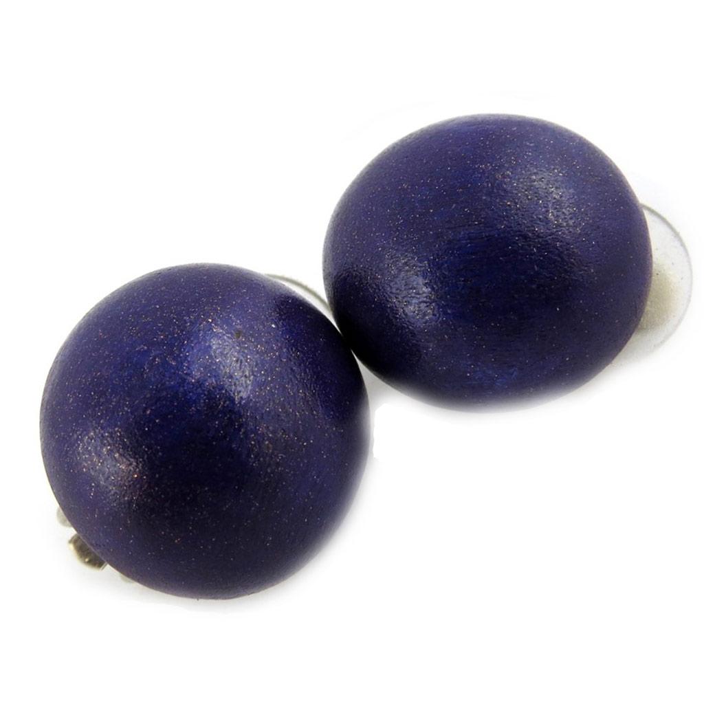 Clips \'Amazonia\' bois violet (2 cm) - [L6990]