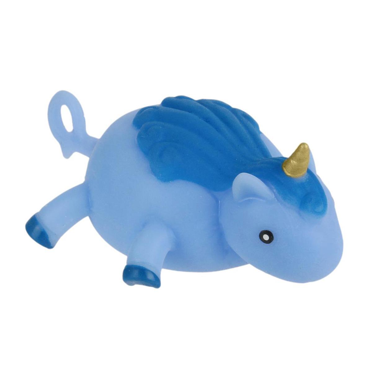Ballon créateur \'Licorne My Unicorn\' bleu - 9x8x4 cm (jusqu\'à 25 cm) - [Q4450]