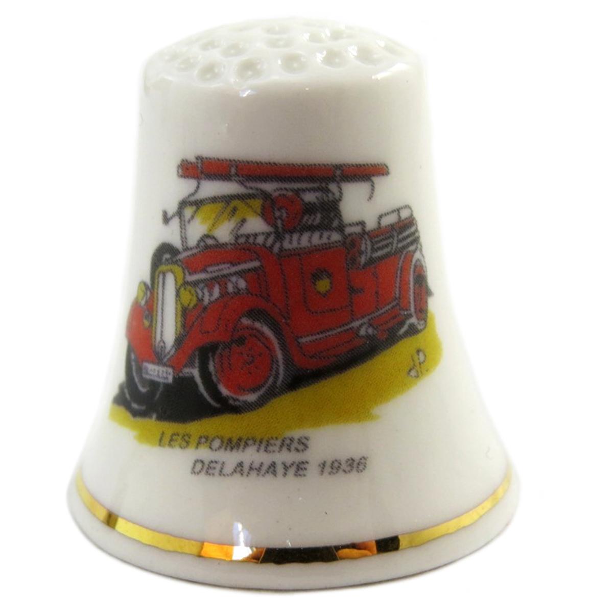 Dé à coudre \'Les Pompiers\'  - [Q4935]