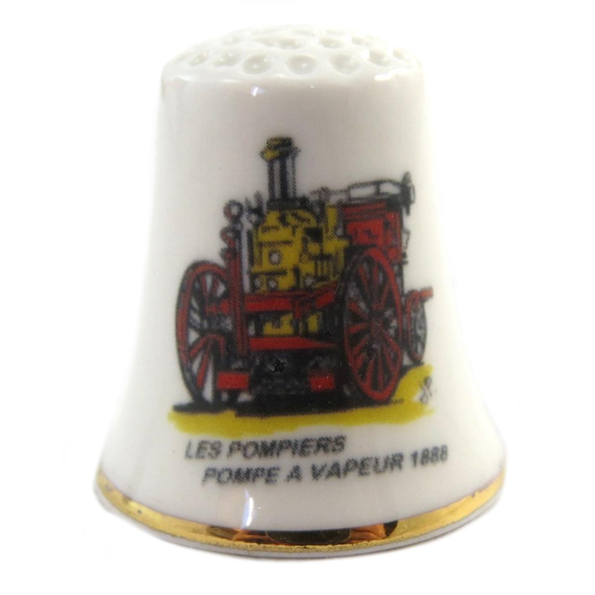 Dé à coudre \'Les Pompiers\'  - [Q4945]