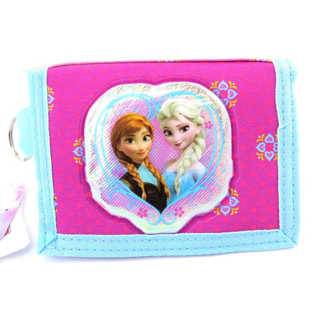 Portefeuille \' Frozen - Reine des Neiges\' rose bleu - [L7826]