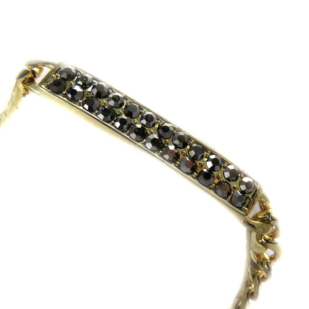 Bracelet \'Déesse\' gris doré - [L7959]