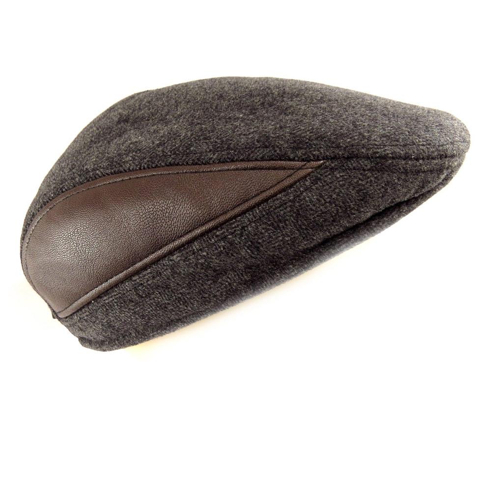 Casquette \'Dickens\' gris marron - [Q5191]