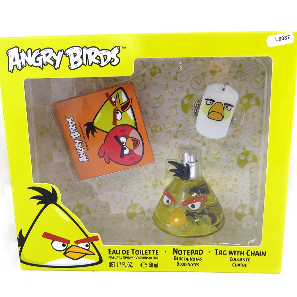Coffret Parfum \'Angry Birds\' yellow bird (50ml) - [L8087]