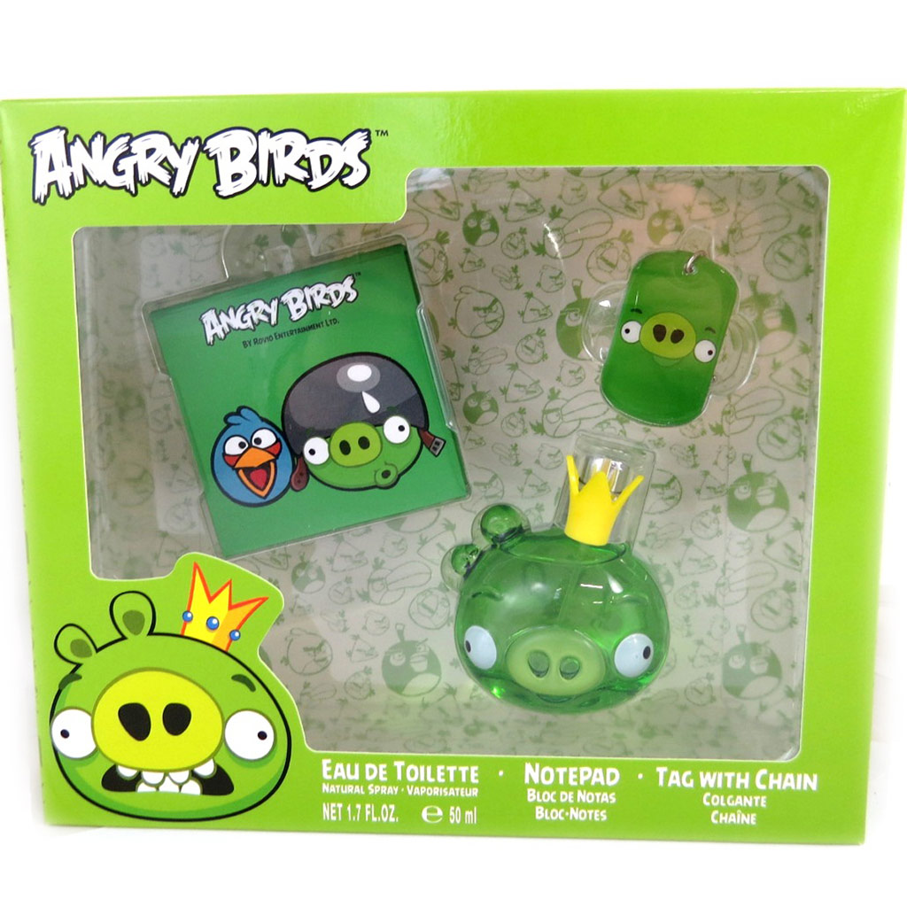 Coffret Parfum \'Angry Birds\' king pig (50ml) - [L8098]