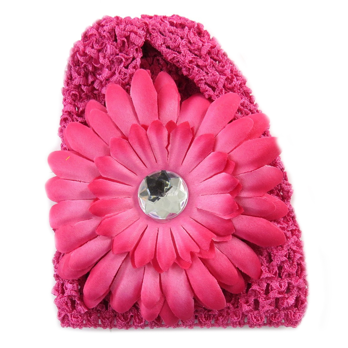 Bonnet enfant \'Petite Lily\' fuschia - [Q5214]