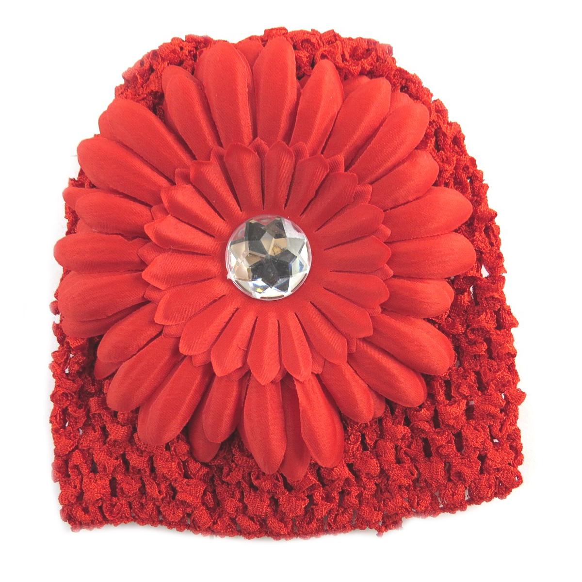 Bonnet enfant \'Petite Lily\' rouge - [Q5224]