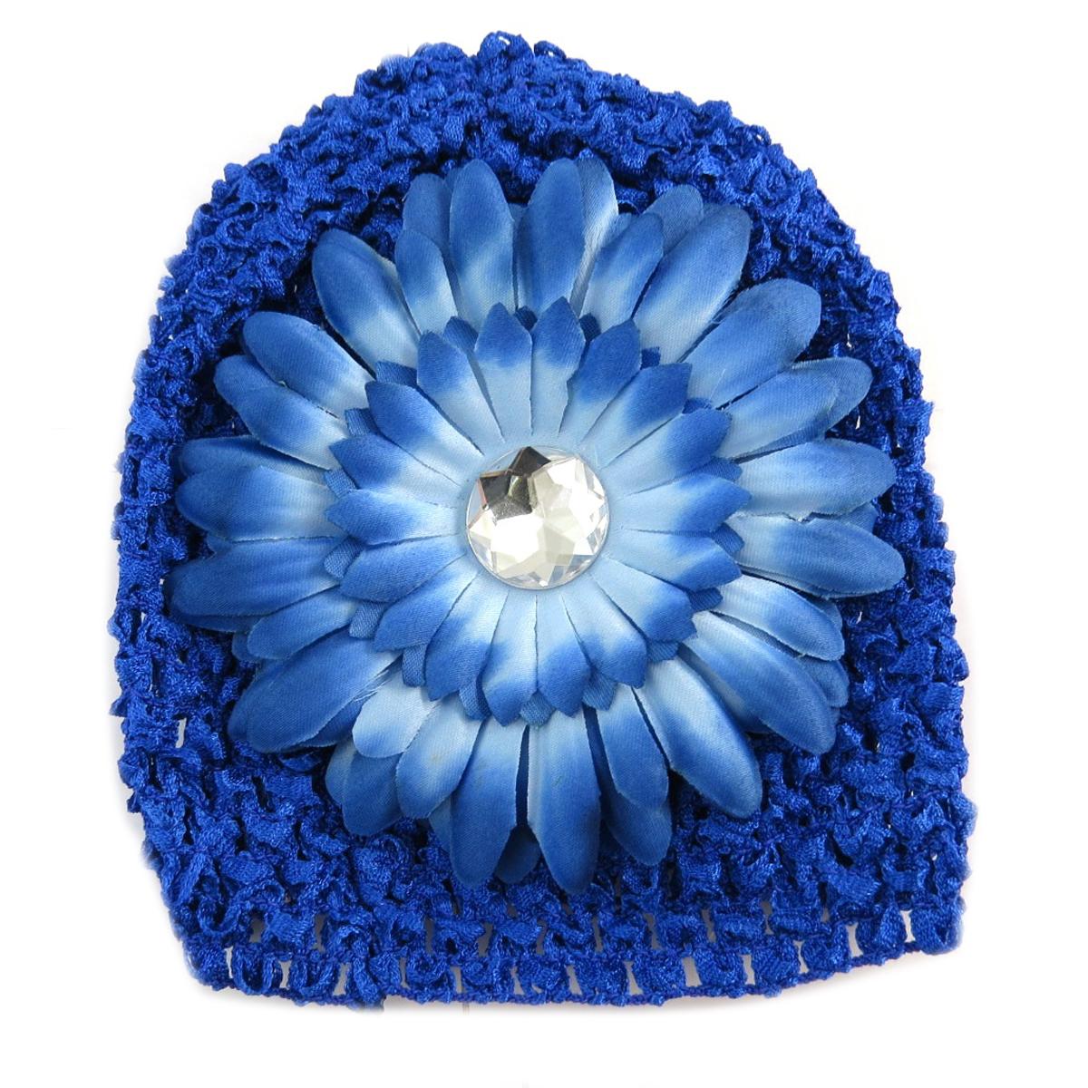 Bonnet enfant \'Petite Lily\' bleu - [Q5229]