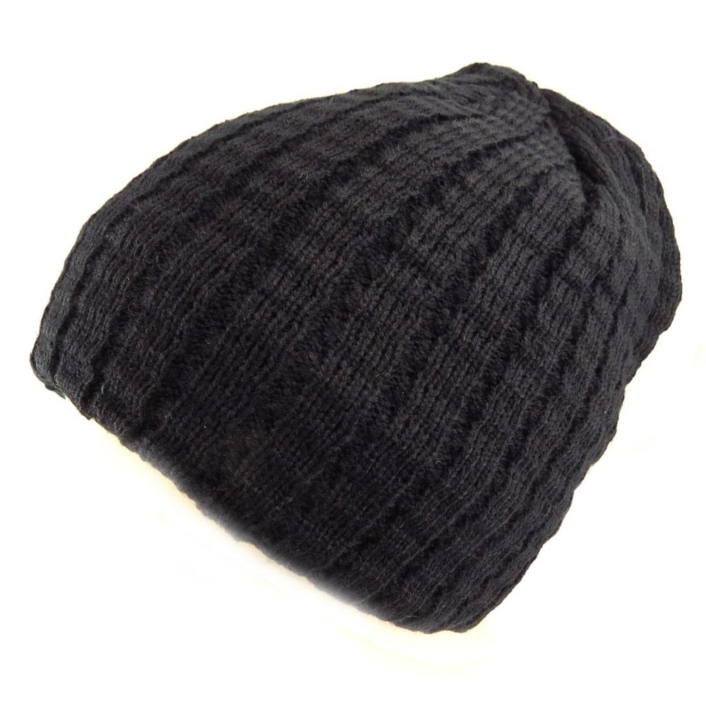 Bonnet \'Indispensable\' noir  - [Q5243]