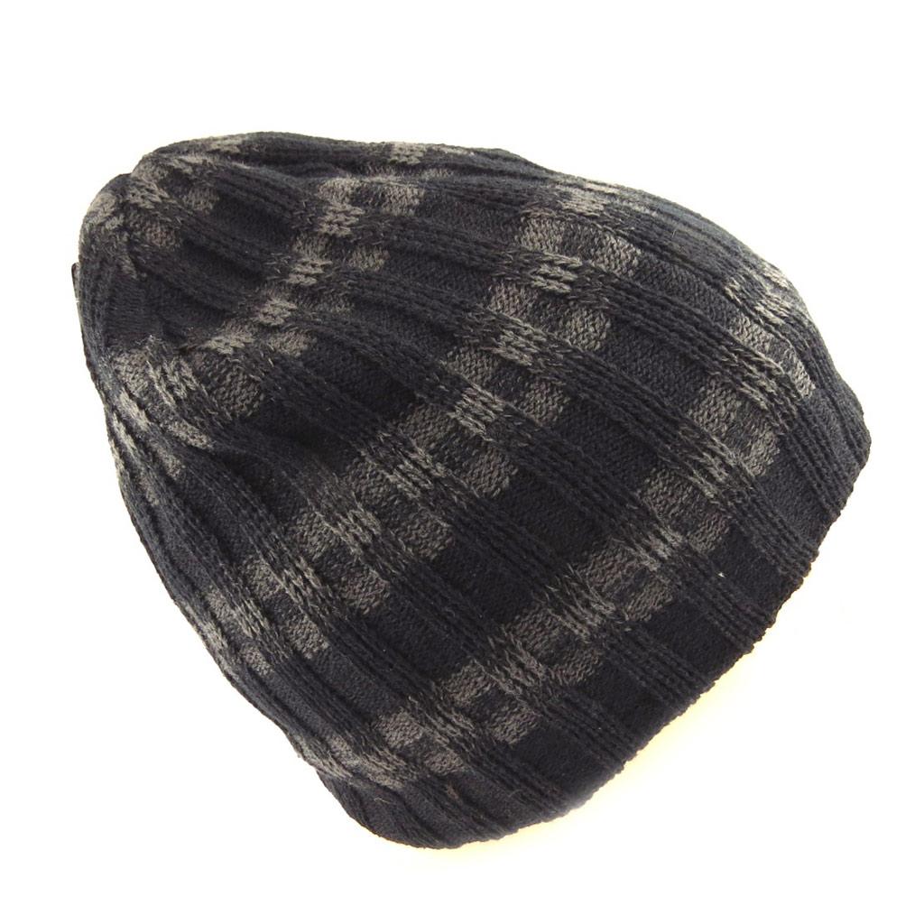 Bonnet \'Indispensable\' noir gris - [Q5244]