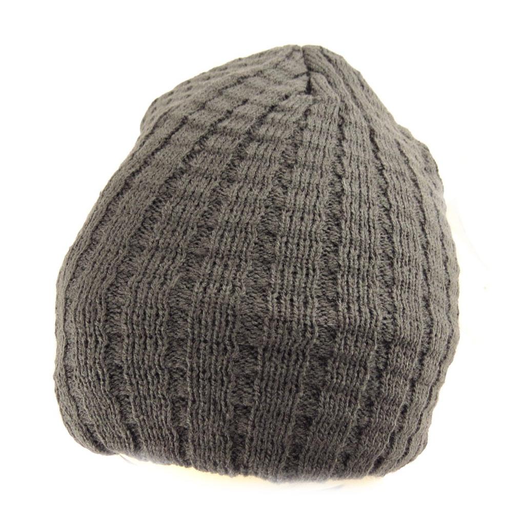 Bonnet \'Indispensable\' gris  - [Q5245]