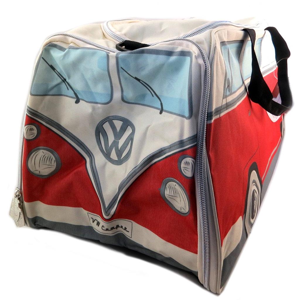 Sac de sport \'Volkswagen\' rouge beige - 63x30x28 cm - [P9080]