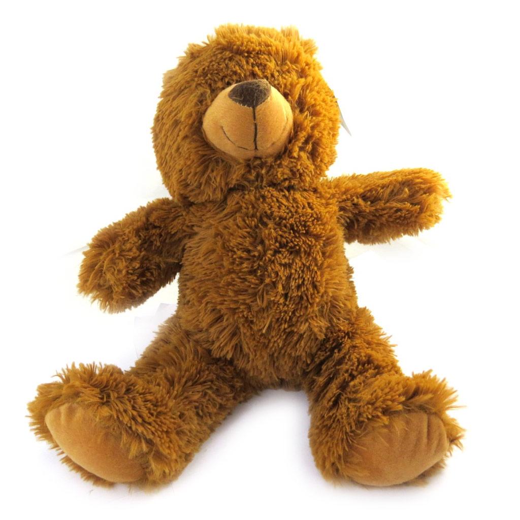 Peluche classique \'Teddy\' marron (38 cm) - [L8786]