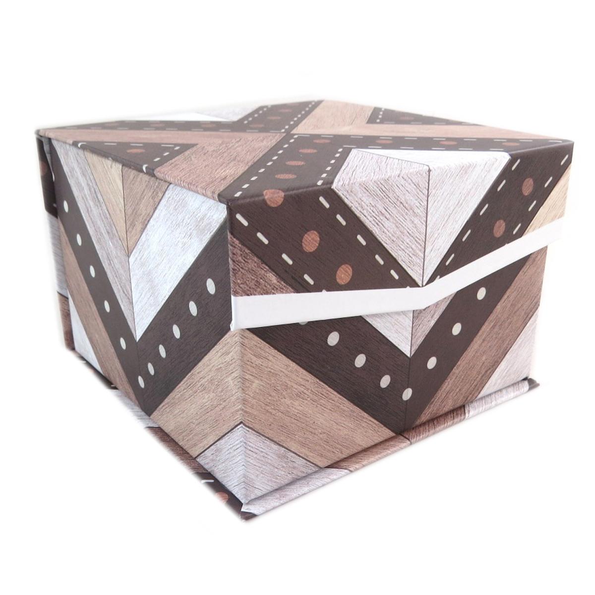 Coffret à Bijoux \'Boho\' marron - 125x125x87 cm - [P9410]
