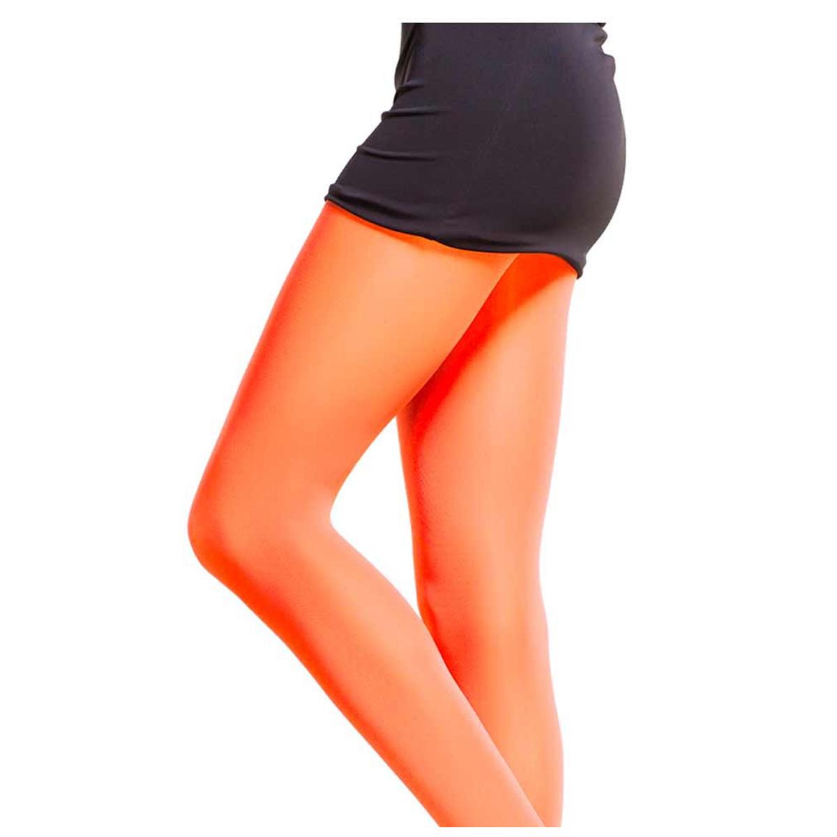 Collant \'Coloriage\' orange - [Q6002]