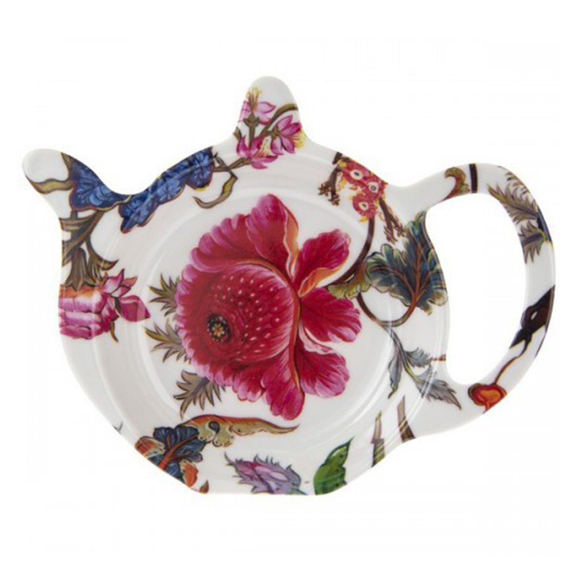 Repose sachets \'William Morris Collection\' blanc multicolore (Anthina) - 12x98 cm - [Q6003]