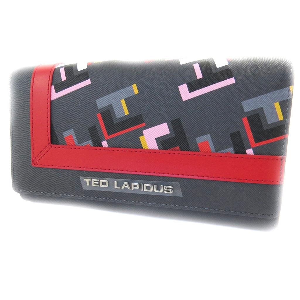 Compagnon \'Ted Lapidus\' gris multicolore - [L9942]