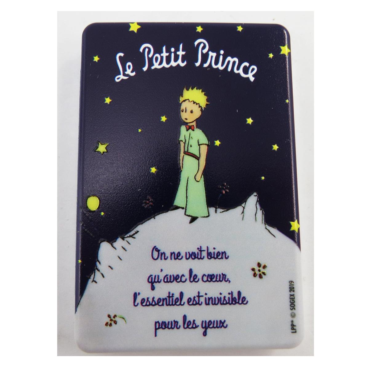 Miroir de poche \'Le Petit Prince\' bleu (nuit étoilée) - 85x55 cm - [Q9493]