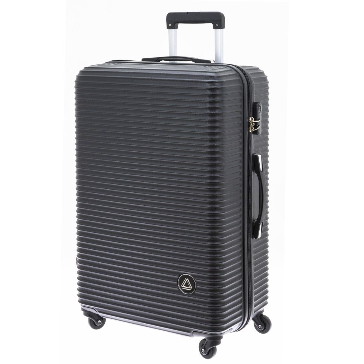 Valise trolley coque ABS \'Davidt\'s\' noir - 75x49x29 cm - [Q9932]