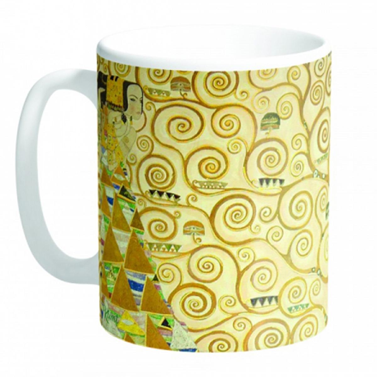 Mug céramique \'Gustav Klimt\' (Arbre de vie) - 95x8 cm - [R2979]